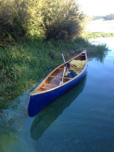 Canvas Covered Canoe