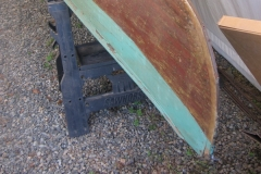 Antique Strip Canoe