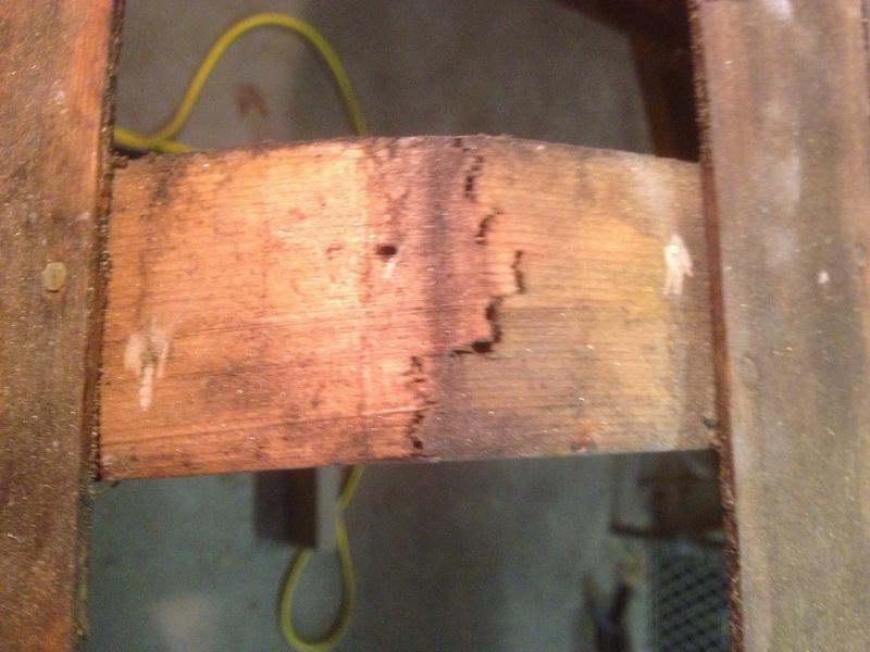 Cracked Canoe Ribs