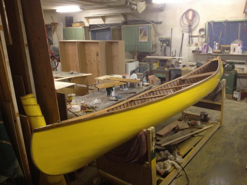 Kevlar Covered Canoe