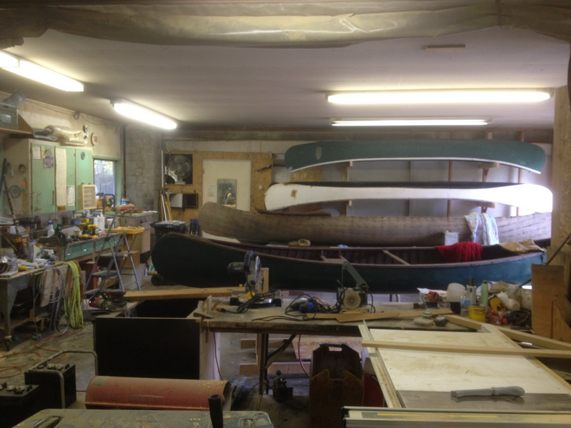 Copper Canyon Canoe Repair