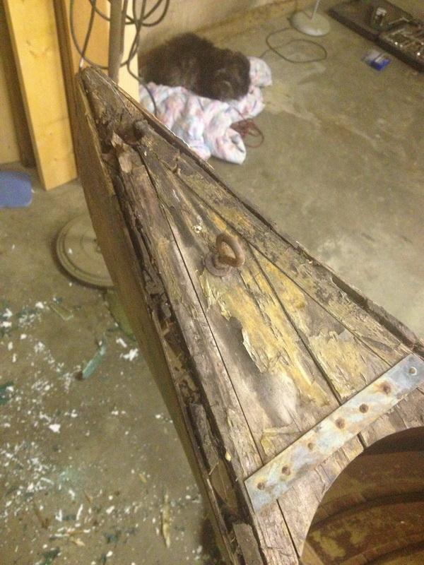 Rotten Chestnut Canoe Deck
