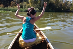 NOT Paddling a Canoe