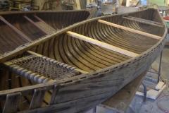 Huron Canoe Temporary Thwarts