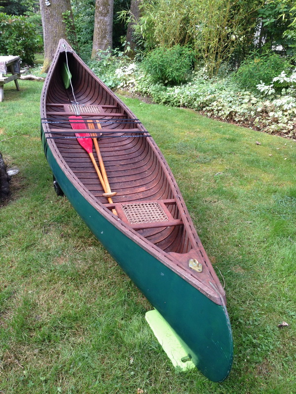 Greenwood Canoe Before Shot