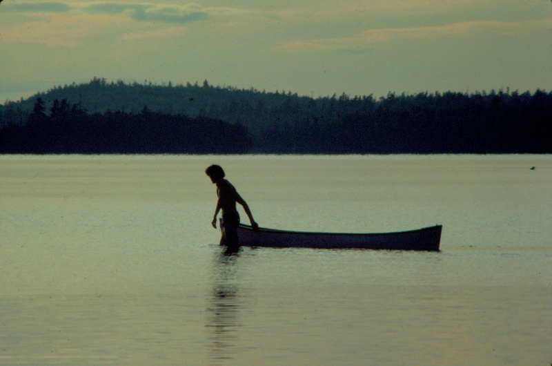 Alone with my Canoe