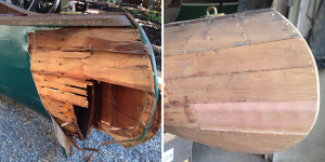 Canvas Covered Canoe Repair