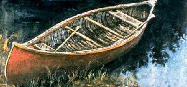 Bill Mason Red Canoe