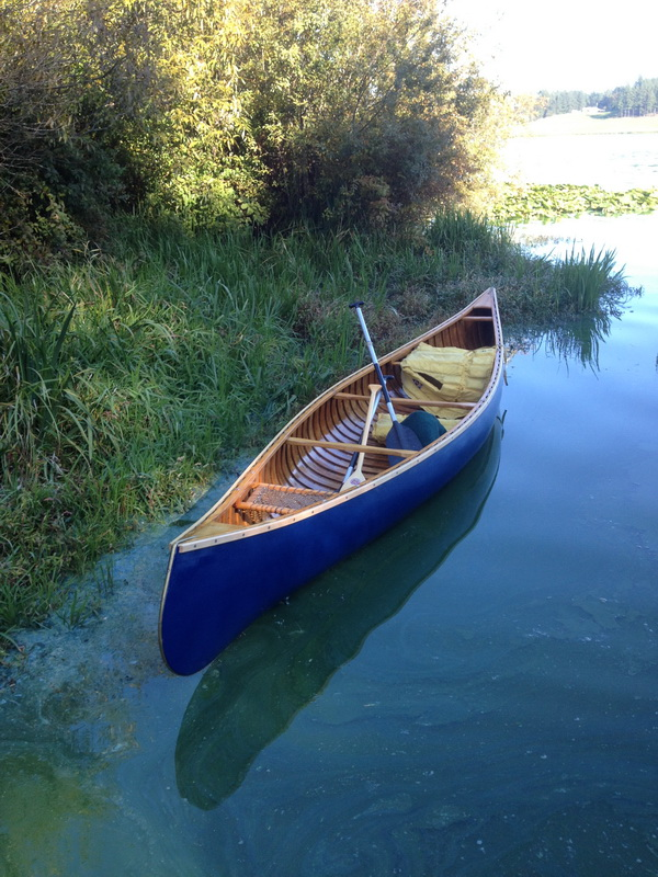 Restored Faber Canoe